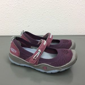 Girls Keen Purple Mary Jane Shoes Toddler Size 8